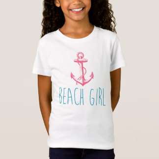 "Nautical Anchor ""Beach Girl"" T-Shirt"