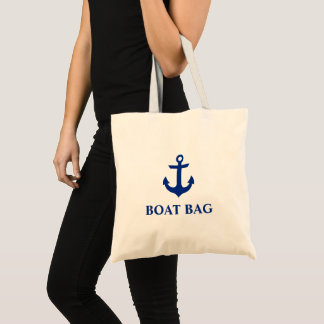 Nautical Anchor Boat Bag Tote Bag