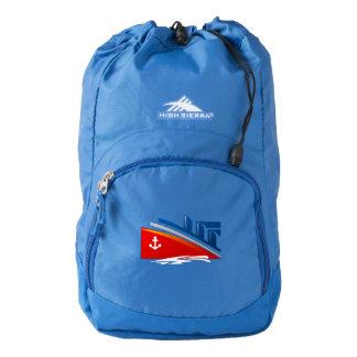 Nautical Anchor Boat Sea Ocean Ship Logo Backpack