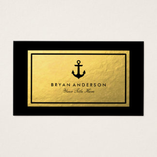 Nautical Anchor Business Card