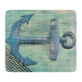 Nautical Anchor Cutting Board