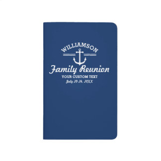 Nautical Anchor Family Reunion Trip Cruise Beach Journals