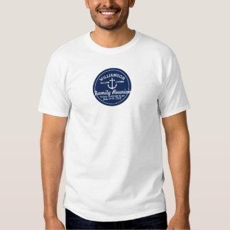 Nautical Anchor Family Reunion Trip Cruise Beach Tee Shirts