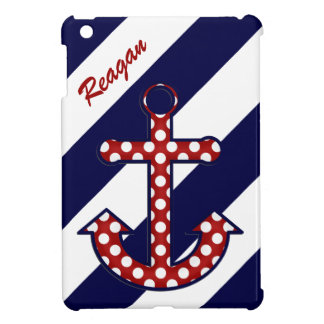 Nautical Anchor iPad Mini Case