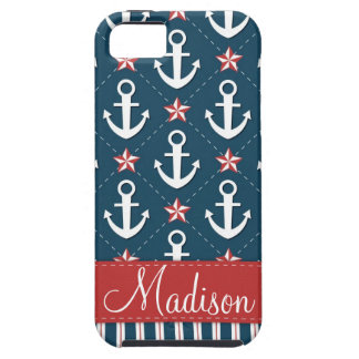 Nautical Anchor iPhone 5 Case