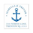 Nautical Anchor   Return Address Self-inking Stamp