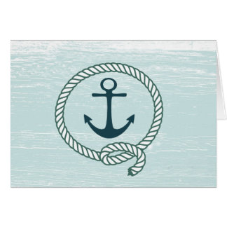 Nautical Anchor Rope All Occasion Card