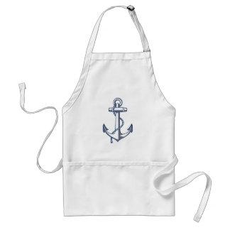 Nautical Anchor Standard Apron