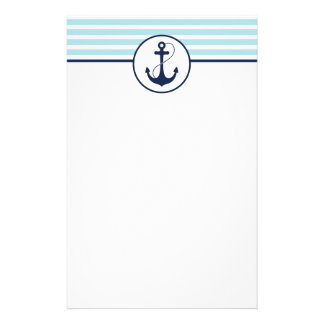Nautical Anchor Stationery Paper