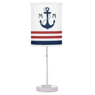 Nautical Anchor Table Lamps