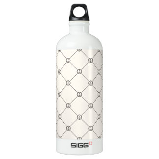 Nautical Anchors 3 Water Bottle