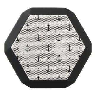 Nautical Anchors 5 Black Bluetooth Speaker