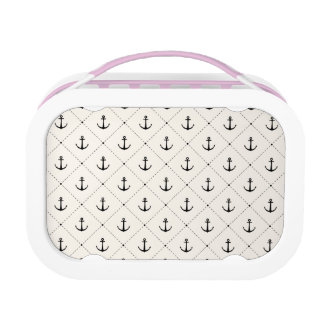 Nautical Anchors 5 Lunch Box