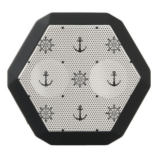 Nautical Anchors 6 Black Bluetooth Speaker