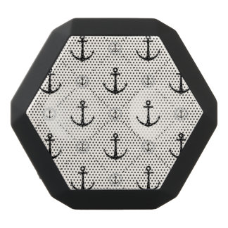 Nautical Anchors 7 Black Bluetooth Speaker