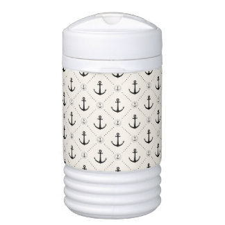 Nautical Anchors 7 Drinks Cooler