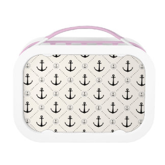 Nautical Anchors 7 Lunch Box