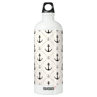 Nautical Anchors 7 Water Bottle