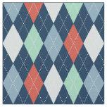 Nautical Argyle Fabric