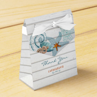 Nautical Beach | Wedding Favor Box