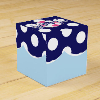 Nautical Birthday Custom Favor Boxes