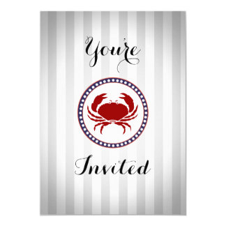 Nautical birthday party or all occasion card