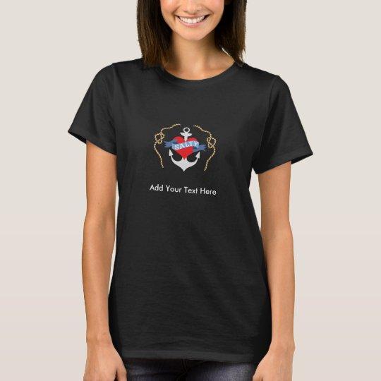 Nautical Birthday Salty Old Salt T-Shirt