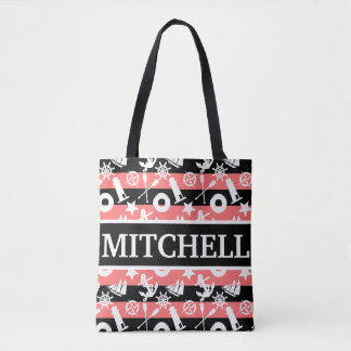 Nautical BKRS Personalized Tote Bag