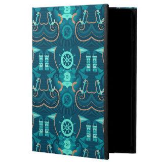 Nautical Blue Design iPad Air Case