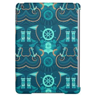 Nautical Blue Design iPad Air Cases