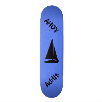 Nautical Blue Skate Board Decks