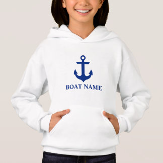 Nautical Boat Name Anchor Girls