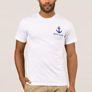 Nautical Boat Name Anchor T-Shirt