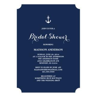 Nautical | Bridal Shower Invitation