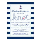 Nautical Bridal Shower Invitation - Tying the Knot