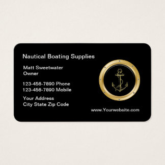 Nautical Business Cards