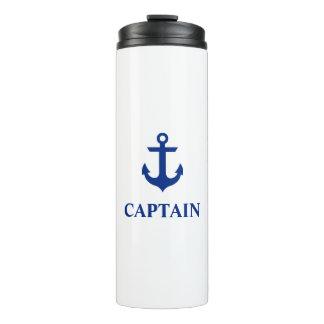 Nautical Captain Anchor Thermal Tumbler