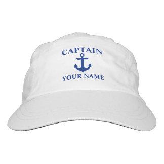 Nautical Captain Name Anchor Hat