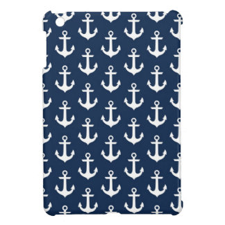 Nautical Chic Anchors iPad Mini Case