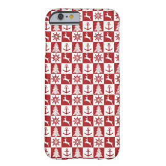 Nautical Christmas Barely There iPhone 6 Case