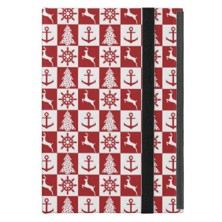 Nautical Christmas Cases For iPad Mini