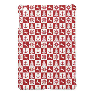 Nautical Christmas iPad Mini Covers