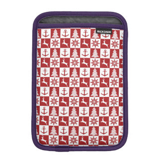 Nautical Christmas iPad Mini Sleeve