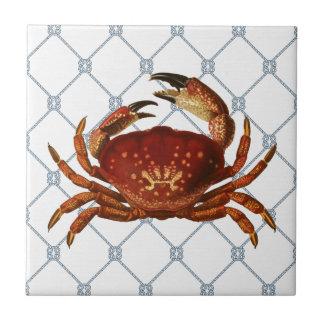 Nautical Crab Tile