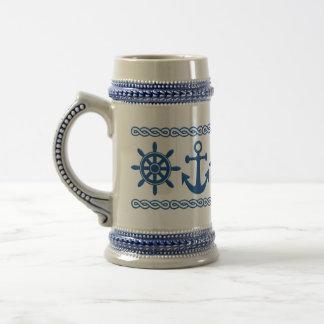 Nautical custom mug - choose style color