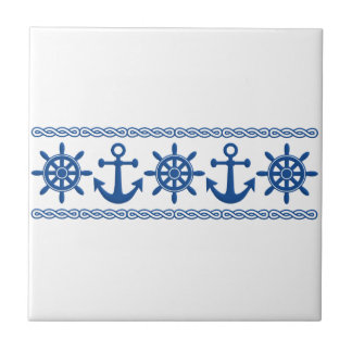 Nautical custom tile