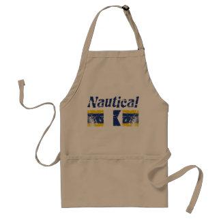 Nautical DAD Standard Apron