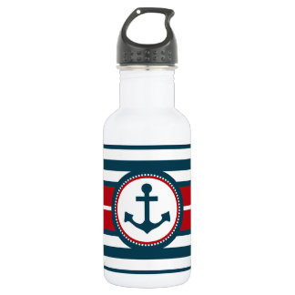 Nautical design 532 ml water bottle