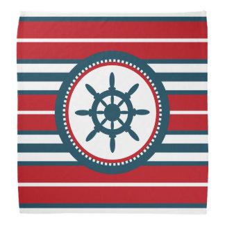 Nautical design bandannas