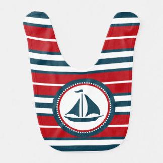 Nautical design bib
